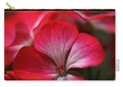 Happy Bright Geranium Carry-all Pouch