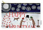 Happy Christmas 29 Carry-all Pouch by Patrick J Murphy