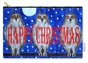 Happy Christmas 94 Carry-all Pouch by Patrick J Murphy