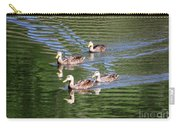 Happy Ducks On The Pond Carry-all Pouch