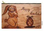 Happy Easter Coffee Painting Carry-all Pouch