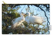 Happy Egret Mates Carry-all Pouch