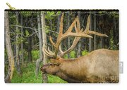 Happy Elk Carry-all Pouch