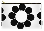 Happy Flower Trio  Carry-all Pouch