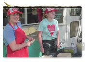 Happy Food Truck Workers Carry-all Pouch