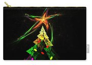 Happy Fractal Holidays Carry-all Pouch