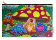 Happy Frog Meadows Carry-all Pouch