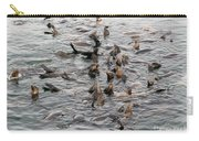 Happy Harbour Seals Carry-all Pouch