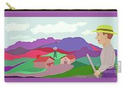 Happy Highland Farm Carry-all Pouch