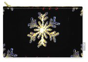 Happy Holiday Snowflakes Carry-all Pouch