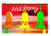 Happy Holidays 11 Carry-all Pouch by Patrick J Murphy