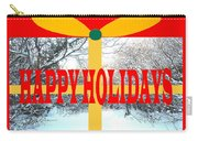 Happy Holidays 21 Carry-all Pouch