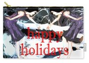 Happy Holidays 30 Carry-all Pouch