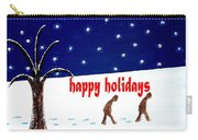 Happy Holidays 5 Carry-all Pouch