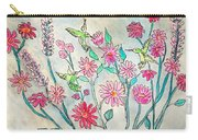 Happy Hummingbirds Carry-all Pouch