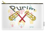 Happy Joyous Purim  Carry-all Pouch