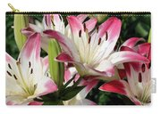 Happy Lilies Carry-all Pouch