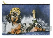 Happy New Year Carry-all Pouch by Barbara Keith