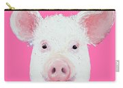 Happy Pig Portrait Carry-all Pouch