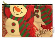 Happy Snowmen Carry-all Pouch