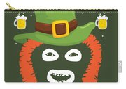 Happy St Patrick's Dave League Of Gentlemen Inspired Papa Lazarou  Carry-all Pouch