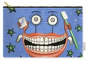 Happy Teeth Carry-all Pouch