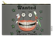 Happy Teeth T-shirt Carry-all Pouch