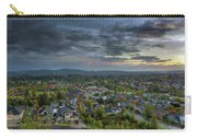 Happy Valley Residential Neighborhood During Sunset Carry-all Pouch