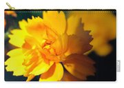 Happy Yellow Flower Carry-all Pouch