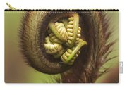 Hapuu Fern Frond Shoot Carry-all Pouch