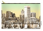Harbor Lights From Federal Hill - Drawing Fx Carry-all Pouch