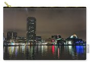 Harbor Lights In Baltimore Carry-all Pouch