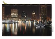 Harbor Nights - Baltimore Skyline Carry-all Pouch