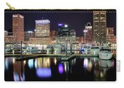 Harbor Nights In Baltimore Carry-all Pouch