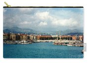 Harbor Scene In Nice France Carry-all Pouch