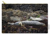 Harbor Seals Basking - Oregon Coast Carry-all Pouch