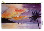Harbor Sunset Kauai Hawaii Carry-all Pouch