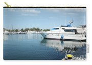 Harbor With Yacht And Boats Carry-all Pouch