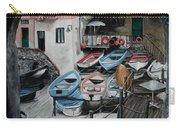Harbor's Edge In Riomaggiore Carry-all Pouch