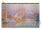 Harbour At Marseilles Carry-all Pouch