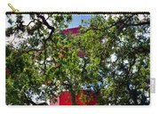 Harbour Town Lighthouse Carry-all Pouch by Lisa Wooten
