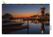 Harbour Town Lighthouse Sunset Carry-all Pouch