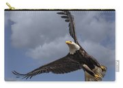 Hard Banking Eagle Carry-all Pouch