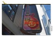 Hard Rock Cafe N Y C Carry-all Pouch by Rob Hans