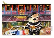 Hard Rock Cafe Teddy Bear From Paris Carry-all Pouch