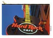 Hard Rock Guitar Detroit Carry-all Pouch