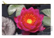 Hardy  Day Water Lily Carry-all Pouch