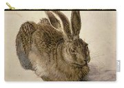 Hare Carry-all Pouch by Albrecht Durer