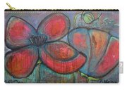 Hare Hare Poppies Carry-all Pouch
