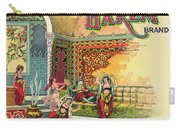 Harem Vintage Fruit Packing Crate Label C. 1920 Carry-all Pouch